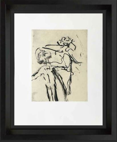 Willem DE KOONING Lithograph ORIGINAL Ltd.EDITION no. 169 w/Custom Frame