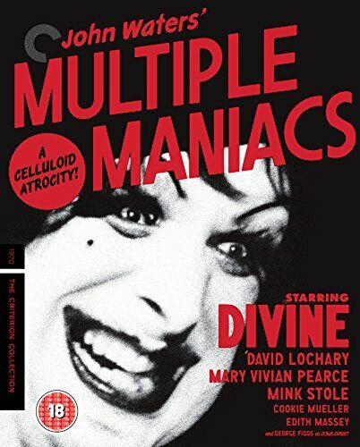 Multiple Maniacs [The Criterion Collection] [Blu-ray] [Region B] [DVD]
