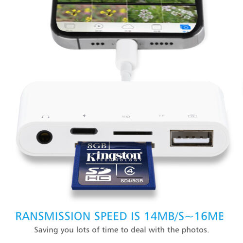 [Plug&Play] Card Reader for Keyboard Listen Charge on iPhone 11 Pro Max iPad 7