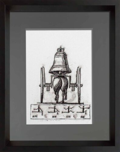 """Max Ernst LITHOGRAPH Original Numbered LIMITED Ed. 42/199 """"For ever.."""" w/ Frame"""