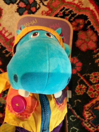 Hank The Hippo - B. Toys Dress Me: Giggling wiggling dress up buddy