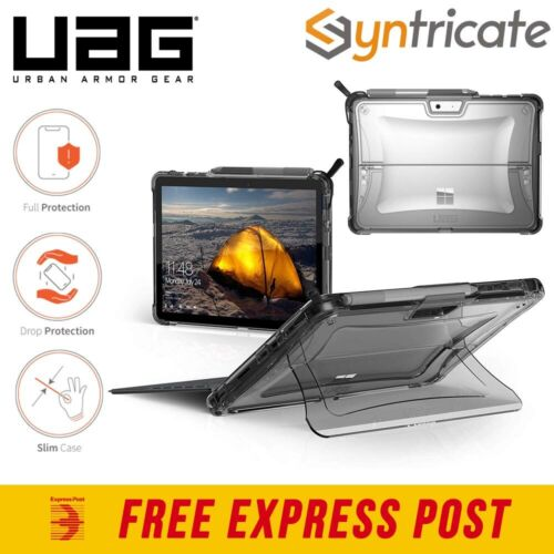Microsoft Surface Pro 7+/7/6/5/4 UAG Plyo Armor Shell Rugged Laptop Case - Clear