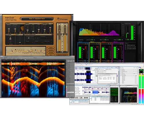 NEW Sony Creative Audio Master Suite 2.5 Sound Forge 11 Spectralayers 3 Izotope