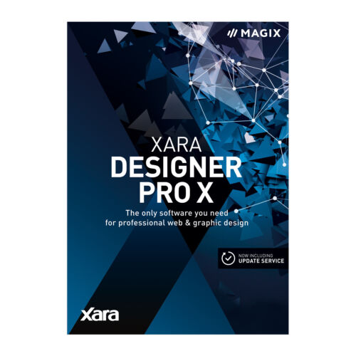 NEW Magix Xara Designer Pro X Web Graphic Design PC Electronic Delivery