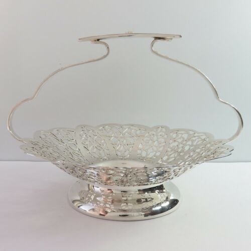 Vintage Paramount Rosepoint Luke Silverplate Sweet/Nut Food Serving Bowl/Dish