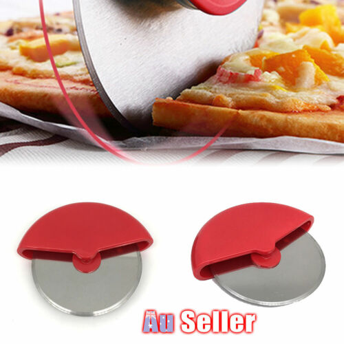 Rolling Handheld Pizza Cutter Wheel Roll Slicer Removable Blade Easy Cleaning