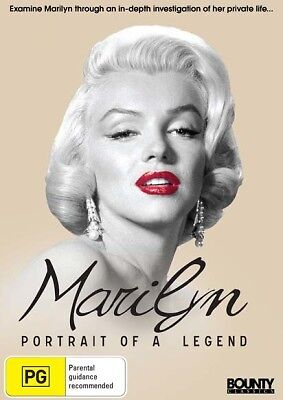 Marilyn: Portrait of a Legend *Marilyn Monroe Documentary* . ( DVD ) REGION 4