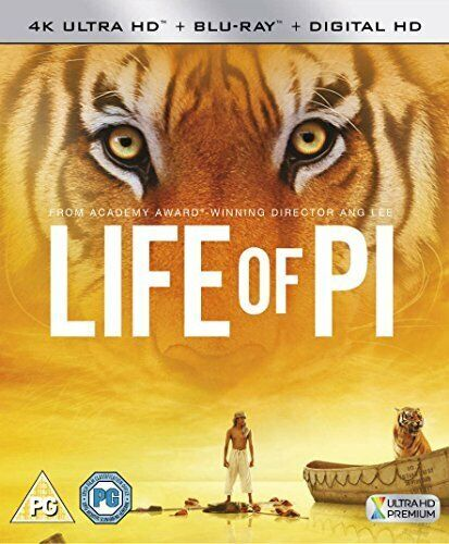 Life Of Pi [Blu-ray] [2013] [DVD][Region 2]