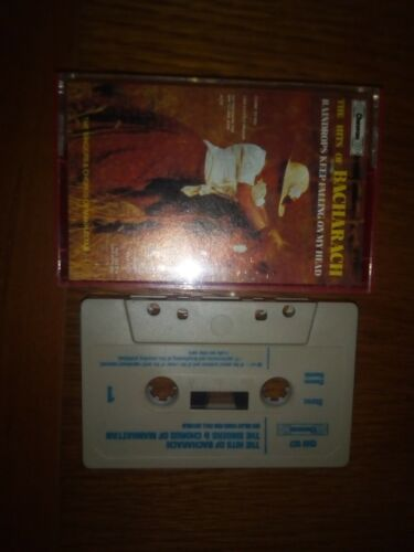 cassette audio k7  thé hits of Bacharach raindrops keep falling on m'y head