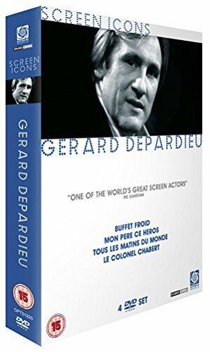 Gerard Depardieu (Screen Icons) [DVD][Region 2]