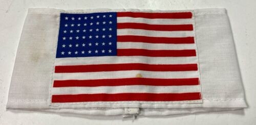WWII US AIRBORNE 82ND 101ST PARATROOPER D-DAY INVASION SLEEVE FLAG BRASSARDUnited States - 156437