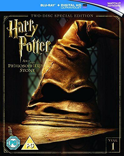Harry Potter and the Philosopher's Stone (2016 Edition) [DVD][Region 2]
