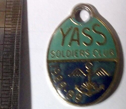 1988-89 Yass Soldiers Club Member Badge