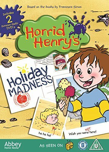 Horrid Henrys Holiday Madness Double DVD Pack[Region 2]