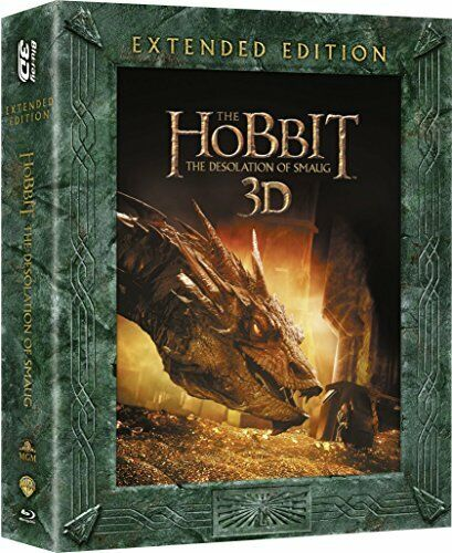 The Hobbit: The Desolation Of Smaug - Extended Edition [Blu-ray 3D + [DVD]