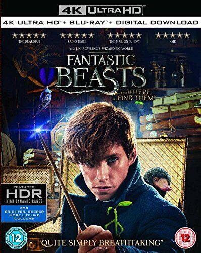Blu-ray1 - Fantastic Beasts And Where To Find Them (1 BLU-RAY) [DVD][Region 2]
