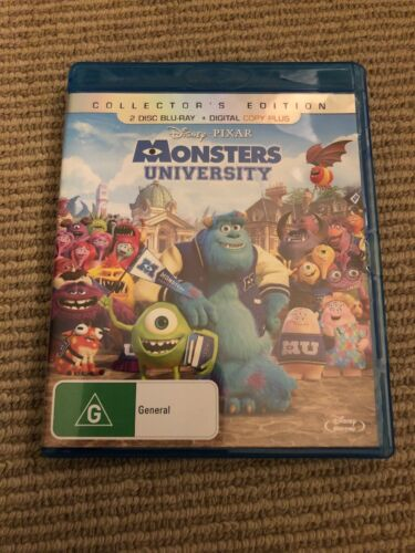 Monsters University (Blu-ray, 2013, 2-Disc Set)