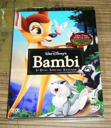 New Sealed DVD - Bambi (2-Disc Special Edition) [B5]