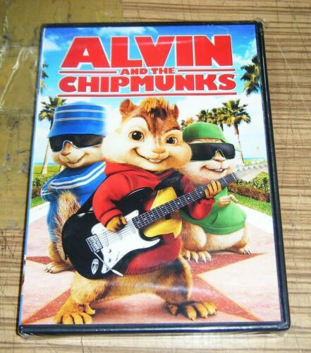 New Sealed DVD - Alvin and the Chipmunks [B5]
