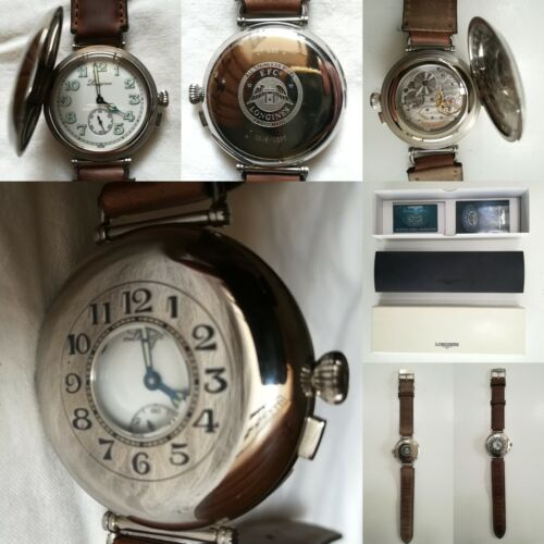 """LONGINES WATCH """"HALF HUNTER"""" LIMITED EDITION 249/1000 COME NUOVO LIKE NEW OMEGA"""