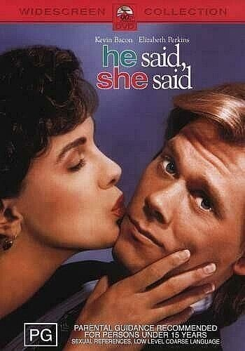 DVD HE SAID,SHE SAID KEVIN BACON  BRAND NEW SEALED AUSTRALIAN MADE FAST POST
