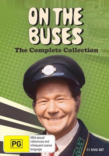 On The Buses : Complete Series  (11 Disc Box Set ) BRAND NEW REGION 4
