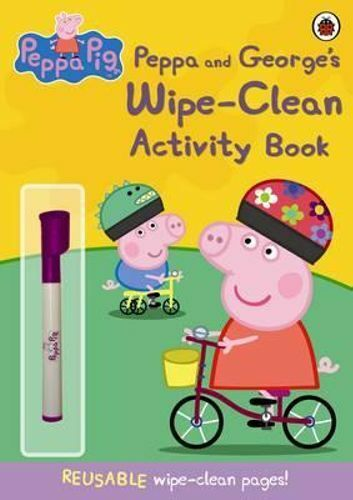 NEW Peppa and George's Wipe-clean Activity Book By Ladybird Paperback