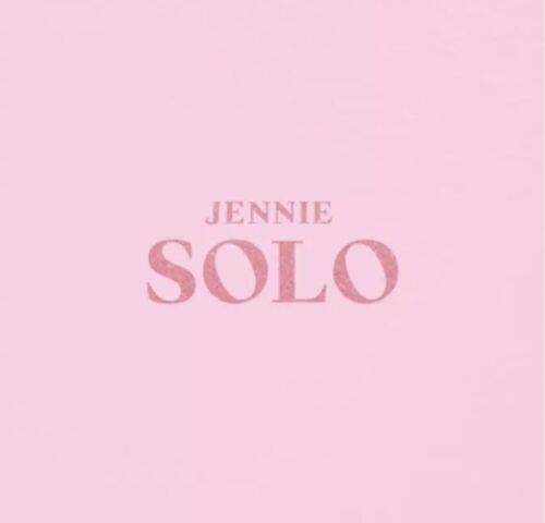 BLACKPINK JENNIE [SOLO] PHOTO BOOK - NEW KPOP SEALED ALBUM - SELECT SHIPPING OPT