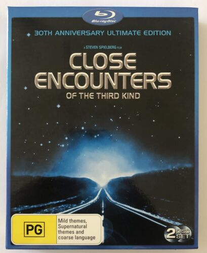 Close Encounters Of The Third Kind Blu Ray 30th Anniversary Ed Box Set VGC PG