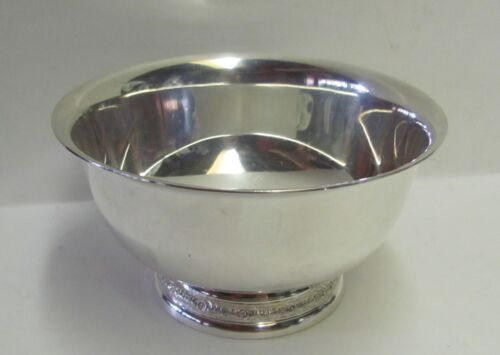 "International Sterling Silver Prelude 5"" Mayonnaise Bowl No Monogram 166g"