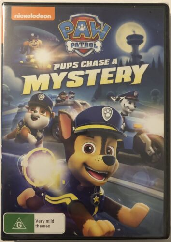 Paw Patrol Pups Chase a Mystery DVD 2020 Brand New & Sealed Region 4 Aus Movie