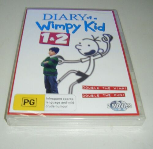 New Sealed DVD - Diary Of A Wimpy Kid 1 & 2 [B8]