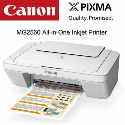 Canon Pixma MG2560 All-in-One Inkjet Printer Multifunction + Ink Cartridge Set