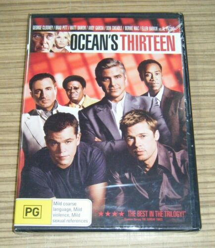 New Sealed DVD - Ocean's Thirteen [B8]
