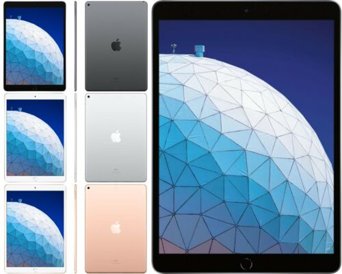 Apple iPad Air 3rd Gen. 10.5-inch 64GB, 256GB Wi-Fi Only OR Unlocked All Colors