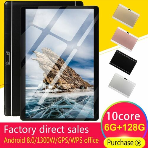 10.1inch 6G+218G WiFi Tablet Android 8.0 HD 1960 x 1080 Bluetooth Game Tablet