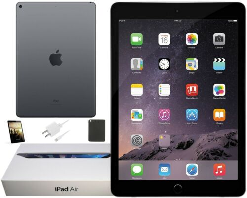 Apple iPad 2 Black, Wi-Fi Only, 16GB, 9.7-inch - Exclusive Fall Bundle Included