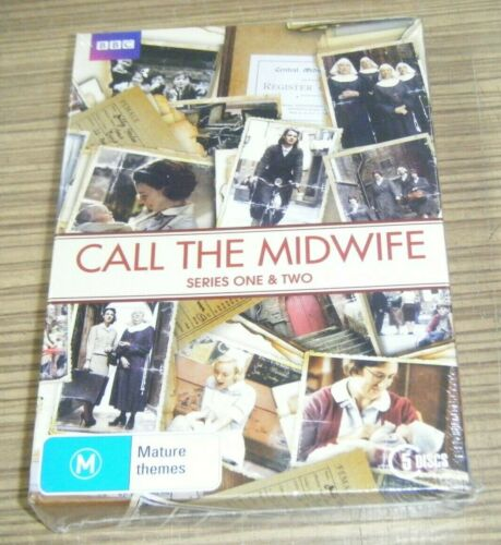 New Sealed DVD - Call The Midwife: Series One & Two [B8]