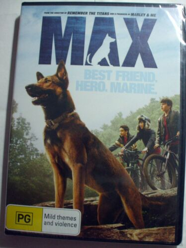 Max : Best Friend, Hero, Marine - exciting family movie -  new/sealed R4 posted