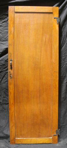 "22""x63 Antique Vintage Old SOLID Wood Wooden Interior Cabinet Pantry Closet Door"