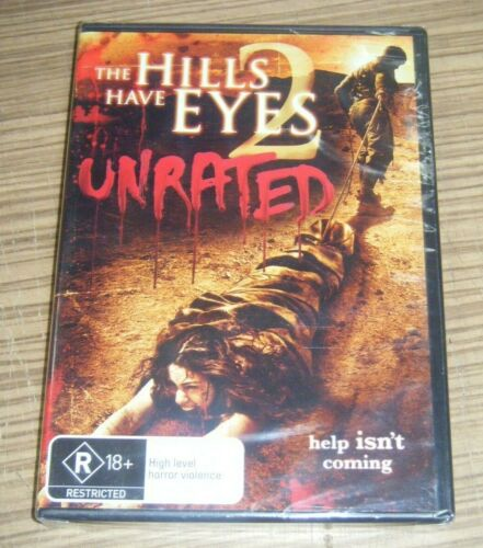 New Sealed DVD - The Hills Have Eyes 2 (Unrated) [B8]