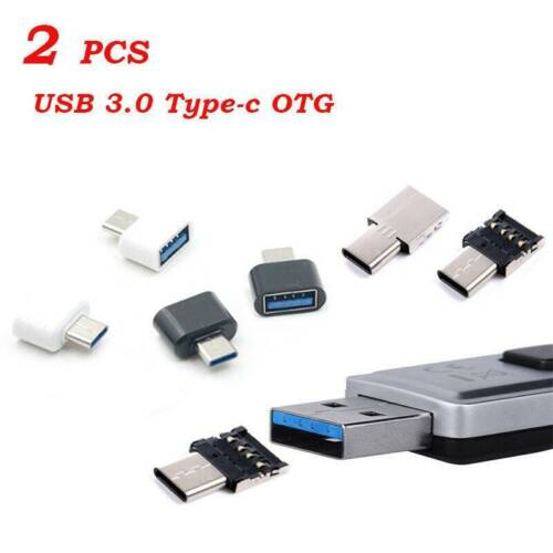 2x Type C Usb-c Usb 3.1 Male To Usb Female Otg Adapter For Phone Smart Tablet