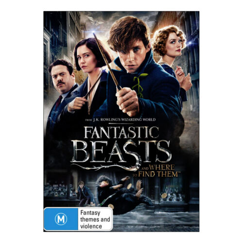 Fantastic Beasts and Where to Find Them DVD New Region 4 Aust. - Eddie Redmayne