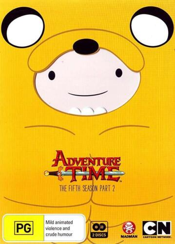ADVENTURE TIME - THE COMPLETE FIFTH SEASON - PART 2