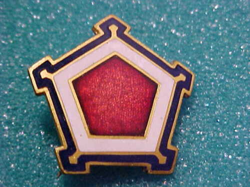 SPANISH - AMERICAN WAR CORPS BADGE FOR 5 TH CORPS HEADQUARTERSOriginal Period Items - 10952