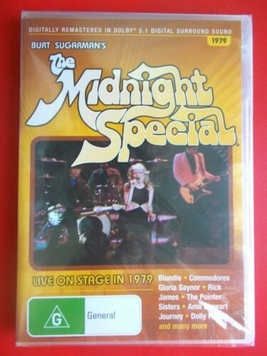 DVD THE MIDNIGHT SPECIAL 1979 JOURNEY   BRAND NEW FACTORY SEALED RARE REGION 4