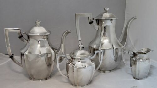 K. Uyeda Classic Sterling (950) Silver Tea/Coffee Service