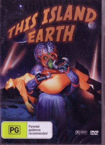THIS ISLAND EARTH - JEFF MORROW - NEW & SEALED DVD - FREE LOCAL POST