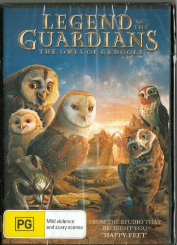 LEGEND OF THE GUARADIANS THE OWLS OF GA'HOOLE - NEW & SEALED REGION 4 DVD