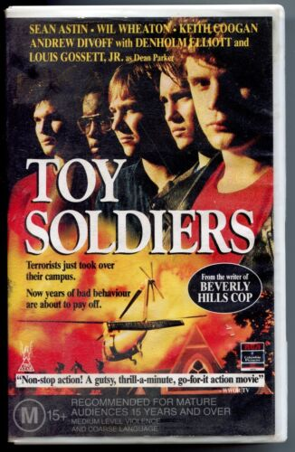 Toy Soldiers VHS 1990's Action Columbia TriStar Home Video PAL